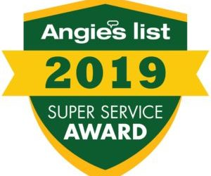 Bieg Plumbing Earns 2019 Angie's List Super Service Award